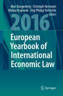 European Yearbook of International Economic Law 2016 Pdf/ePub eBook