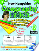 New Hampshire Geography Projects - 30 Cool Activities, Crafts, Experiments & More for Kids to Do to Learn About Your State!