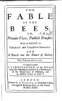 The fable of the Bees
