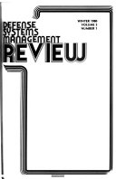 Defense Systems Management Review