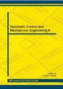 Pdf Automatic Control and Mechatronic Engineering II