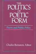The Politics of Poetic Form