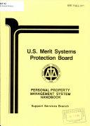 Personal Property Management System Handbook