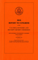 Congressional-Executive Commission on China Annual Report 2016