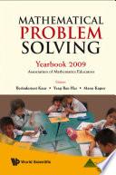 Mathematical Problem Solving  Yearbook 2009  Association Of Mathematics Educator