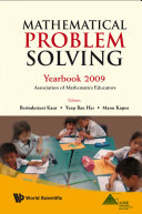 Mathematical Problem Solving  Yearbook 2009  Association Of Mathematics Educator