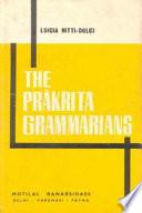 Prakrit Grammarians