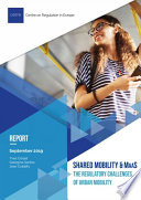 Shared mobility and MaaS