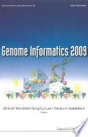 Genome Informatics 2009  Genome Informatics Series Vol  23   Proceedings Of The 20th International Conference