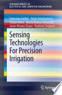 Sensing Technologies For Precision Irrigation