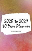 2020 2029 Ten Year Monthly Planner  Small Hardcover Calendar Planner