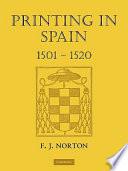 Printing In Spain 1501 1520