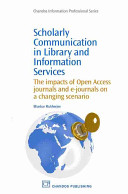 Scholarly Communication in Library and Information Services Book