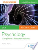 Ocr Psychology Student Guide 1 Component 1 Research Methods