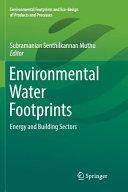 Environmental Water Footprints Book