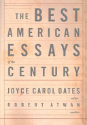 The Best American Essays of the Century Book