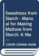 Sweetness From Starch Book PDF