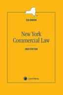 New York Commercial Law Goldbook