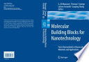 Molecular Building Blocks for Nanotechnology