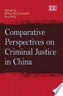 Comparative Perspectives on Criminal Justice in China