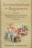 DIY Fermentation for Beginners