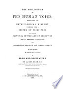 The Philosophy of the Human Voice