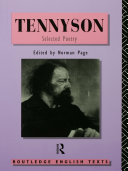 Tennyson  Selected Poetry
