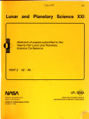 Lunar and Planetary Science Book