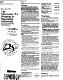 Tax information for divorced or separated individuals