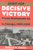 Quest for Decisive Victory