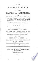 The Present State of the Empire of Morocco Book