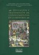 Educación y transmisión de conocimientos en la historia