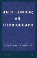 Mary Lyndon  An Autobiography