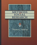 Methods of Social Research Book