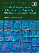 Criminal Enforcement of Intellectual Property
