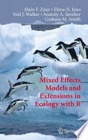 Mixed Effects Models And Extensions In Ecology With R Book PDF