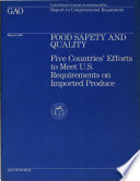 Food Safety and Quality Book
