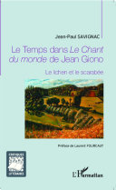 Pdf Le Temps dans Le Chant du monde de Jean Giono Telecharger