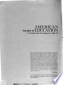 The Best of American Education