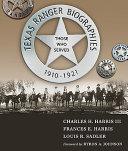 Texas Ranger Biographies