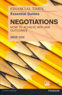 The Financial Times Essential Guide to Negotiations