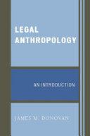 Legal Anthropology