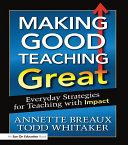 Making Good Teaching Great