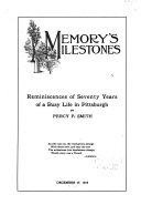 Memory s Milestones