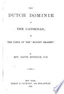 The Dutch Dominie of the Catskills