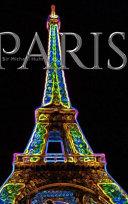 Paris Eiffel Tower Neon Blank Creative Journal Sir Michael Designer Edition