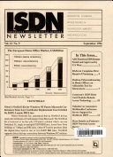 Integrated Standard Digital Network Newsletter