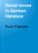Social Forces in German Literature