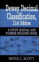 Dewey Decimal Classification, 21st Edition