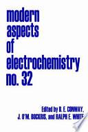 Modern Aspects of Electrochemistry Book